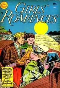 Cover Thumbnail for Girls' Romances (DC, 1950 series) #22