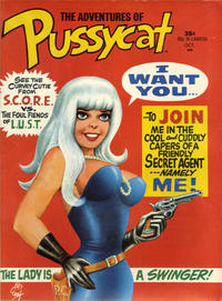 Cover Thumbnail for Pussycat (Marvel, 1968 series) #1