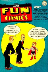 Cover Thumbnail for More Fun Comics (DC, 1936 series) #108