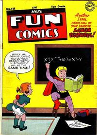 Cover Thumbnail for More Fun Comics (DC, 1936 series) #111