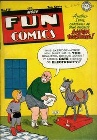 Cover Thumbnail for More Fun Comics (DC, 1936 series) #115