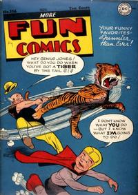 Cover Thumbnail for More Fun Comics (DC, 1936 series) #116