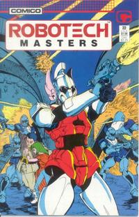 Cover Thumbnail for Robotech Masters (Comico, 1985 series) #22