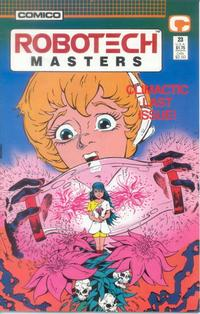 Cover Thumbnail for Robotech Masters (Comico, 1985 series) #23