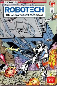 Cover Thumbnail for Robotech: The Macross Saga (Comico, 1985 series) #2