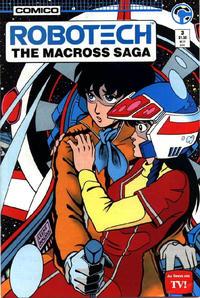 Cover Thumbnail for Robotech: The Macross Saga (Comico, 1985 series) #3