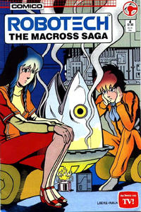 Cover Thumbnail for Robotech: The Macross Saga (Comico, 1985 series) #4