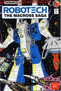 Cover Thumbnail for Robotech: The Macross Saga (Comico, 1985 series) #5
