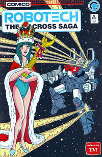 Cover for Robotech: The Macross Saga (Comico, 1985 series) #9