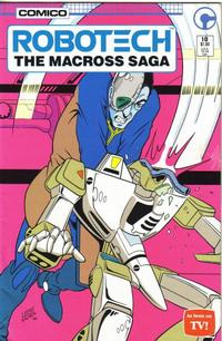 Cover Thumbnail for Robotech: The Macross Saga (Comico, 1985 series) #10