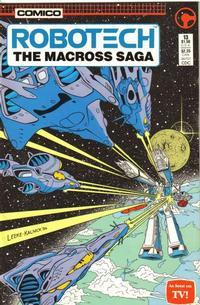 Cover Thumbnail for Robotech: The Macross Saga (Comico, 1985 series) #13 [direct]