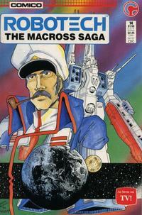 Cover Thumbnail for Robotech: The Macross Saga (Comico, 1985 series) #14