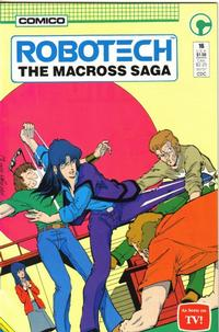Cover Thumbnail for Robotech: The Macross Saga (Comico, 1985 series) #16