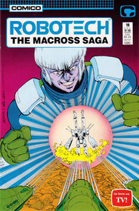 Cover Thumbnail for Robotech: The Macross Saga (Comico, 1985 series) #19