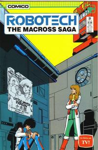 Cover Thumbnail for Robotech: The Macross Saga (Comico, 1985 series) #21