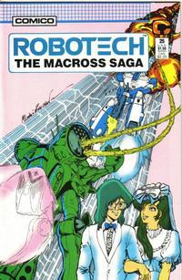 Cover Thumbnail for Robotech: The Macross Saga (Comico, 1985 series) #25