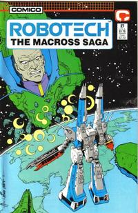 Cover Thumbnail for Robotech: The Macross Saga (Comico, 1985 series) #27