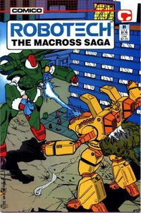 Cover Thumbnail for Robotech: The Macross Saga (Comico, 1985 series) #31