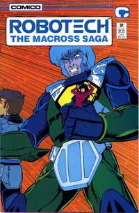 Cover Thumbnail for Robotech: The Macross Saga (Comico, 1985 series) #32