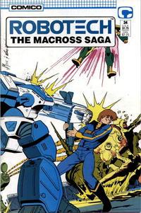 Cover Thumbnail for Robotech: The Macross Saga (Comico, 1985 series) #34
