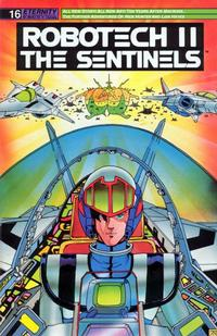 Cover Thumbnail for Robotech II: The Sentinels (Malibu, 1988 series) #16