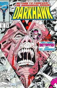 Cover Thumbnail for Darkhawk (Marvel, 1991 series) #23 [Direct]