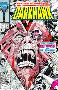 Cover Thumbnail for Darkhawk (Marvel, 1991 series) #23 [Direct]