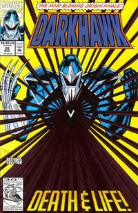 Cover Thumbnail for Darkhawk (Marvel, 1991 series) #25 [Direct]