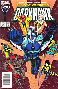 Cover Thumbnail for Darkhawk (Marvel, 1991 series) #26 [Newsstand]