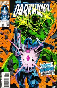 Cover Thumbnail for Darkhawk (Marvel, 1991 series) #32 [Direct Edition]