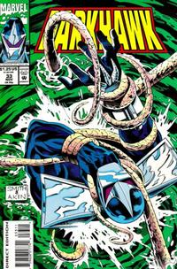 Cover Thumbnail for Darkhawk (Marvel, 1991 series) #33 [Direct Edition]