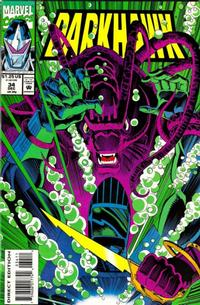 Cover Thumbnail for Darkhawk (Marvel, 1991 series) #34 [Direct Edition]