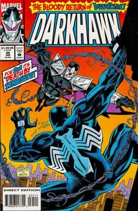 Cover Thumbnail for Darkhawk (Marvel, 1991 series) #35 [Direct Edition]