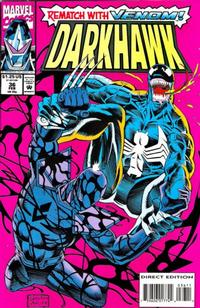 Cover Thumbnail for Darkhawk (Marvel, 1991 series) #36 [Direct Edition]
