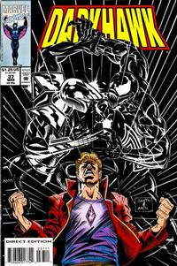 Cover Thumbnail for Darkhawk (Marvel, 1991 series) #37 [Direct Edition]