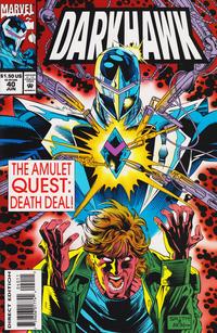 Cover Thumbnail for Darkhawk (Marvel, 1991 series) #40