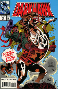 Cover Thumbnail for Darkhawk (Marvel, 1991 series) #45
