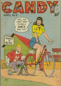 Cover for Candy (Quality Comics, 1947 series) #9