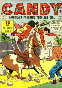 Cover Thumbnail for Candy (Quality Comics, 1947 series) #21