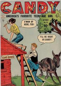 Cover Thumbnail for Candy (Quality Comics, 1947 series) #24