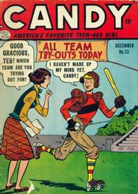 Cover Thumbnail for Candy (Quality Comics, 1947 series) #33
