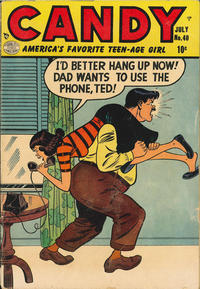 Cover Thumbnail for Candy (Quality Comics, 1947 series) #40