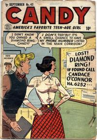 Cover Thumbnail for Candy (Quality Comics, 1947 series) #42