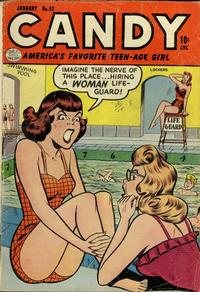 Cover Thumbnail for Candy (Quality Comics, 1947 series) #52