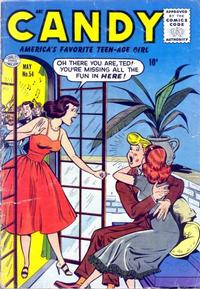 Cover Thumbnail for Candy (Quality Comics, 1947 series) #54