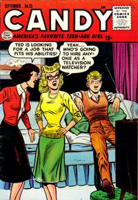 Cover Thumbnail for Candy (Quality Comics, 1947 series) #55