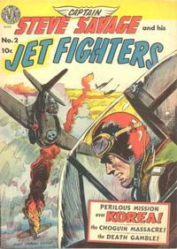 Cover Thumbnail for Captain Steve Savage (Avon, 1950 series) #2