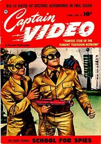 Cover Thumbnail for Captain Video (Fawcett, 1951 series) #4