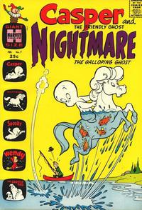 Cover Thumbnail for Casper & Nightmare (Harvey, 1964 series) #7