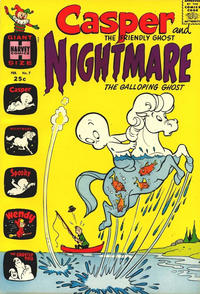 Cover Thumbnail for Casper & Nightmare (Harvey, 1964 series) #7